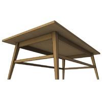 desk 3d 3ds