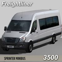 maya freightliner sprinter minibus 3500
