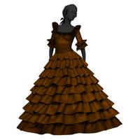 maya baroque marie antoinette dress