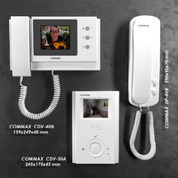 commax video intercom 3d model