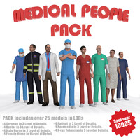 max ultimate medical people pack