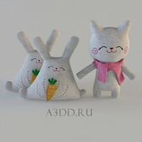 3d cats