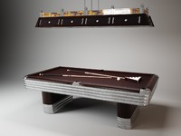 centennial regulation pool table 3d max