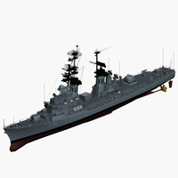 3d max 103 class destroyer german