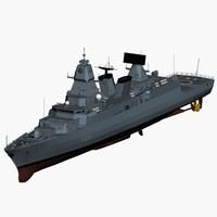 f124 sachsen class frigate max