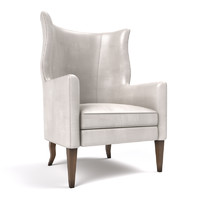 3d wing chair baker model