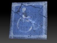 scan handicap parking 3d model