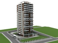 architecture building house 3d 3ds