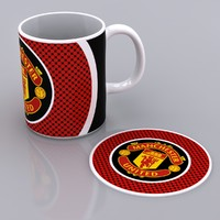 3d model of mug mat manchester