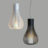 3ds max flos chasen suspension lamp