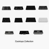 3d cooktops model