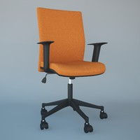 3d max office chair