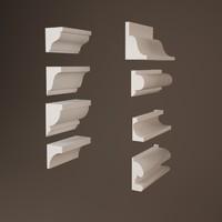 3d cornice model