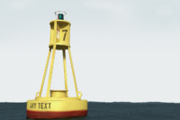 buoy float 3d obj