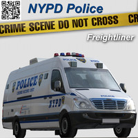 freightliner sprinter van nypd police max