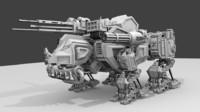 rhino robot 3ds