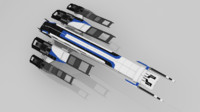 normandy sr2 mass video 3d model