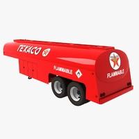 3d model oil tank cistern