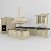 3ds max kitchen classic 02