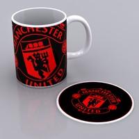 3d mug mat manchester model