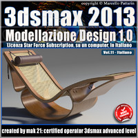 3dsmax 2013 Modellazione Design v.11 Italiano_Subscription