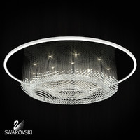 3d model swarovski chandelier