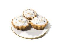 3d muffins model