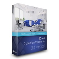 CGAXIS MODELS VOLUME 55 3D MEDICAL Cinema 4D