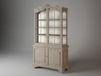 cab05755-03 cabinet bon ton 3d 3ds