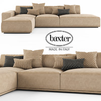 3d model sofa baxter monsieur