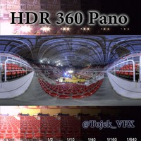 HDR 360 Pano Rio Olympic Arena01