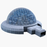 dome city mht-08 3d model