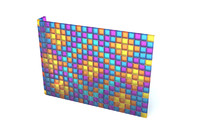 wall glass blocks 3d max