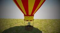 3dsmax air balloon