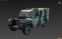 British military truck