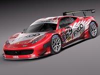 3d model 2014 car race