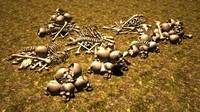 skelet skeleton 3d max