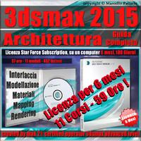 3ds max 2015 Architettura Guida Completa 6 Mesi Subscription