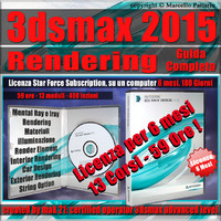 3ds max 2015 Rendering Guida Completa 6 Mesi