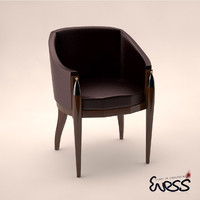 armchair pozzoli pr6848-ad 3d model