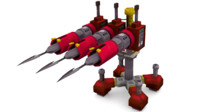 harpoon cannon 3d 3ds