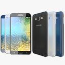 Samsung Galaxy E7 3D models