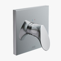 shower hansgrohe axor starck 3d model