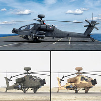3d model ah64e apache longbow