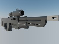 3ds max rifle