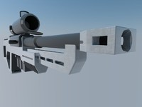 3d 3ds rifle