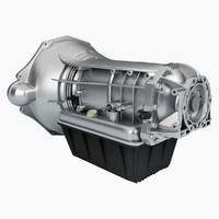 cummins transmission trans 3d model