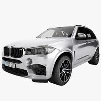 3d model bmw x5 2015