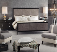modern bedroom interior 082 3d max