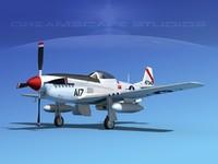 cockpit p-51-d 3ds